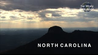 North Carolina from Above in High Definition (HD)