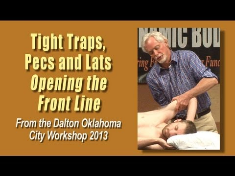 massage-for-tight-traps,-pecs,-and-lats-|-opening-the-front-line