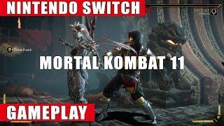 Mortal Kombat 11 Nintendo Switch Gameplay