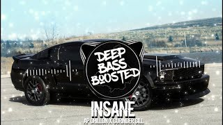 INSANE (BASS BOOSTED) AP DHILLON | GURINDER GILL | New Punjabi Bass Boosted Songs 2021