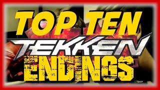 Top Ten Tekken Endings - From T1 to TTT2