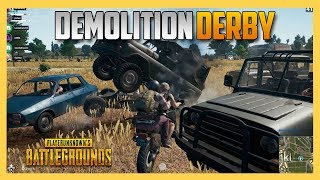 Demolition Derby in PUBG Battlegrounds!