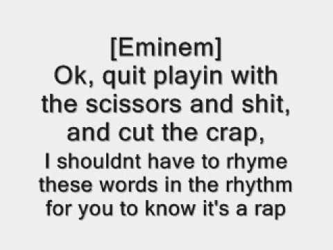 Eminem- Not Afraid lyrics- dirty version