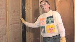 Right Vs Wrong: Installing Insulation Batts In Exterior Walls - Part One