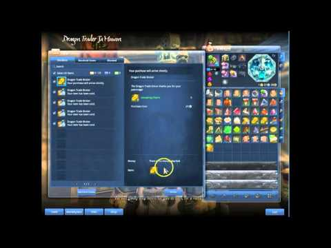 Blade and soul How to use the Auction house and storage NPC