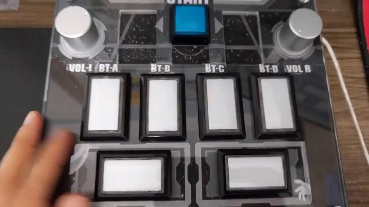 [C&S] Sound Voltex Mini-con button test