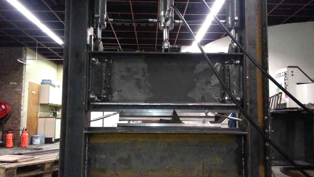 kantbank 50 ton homemade youtube. Black Bedroom Furniture Sets. Home Design Ideas