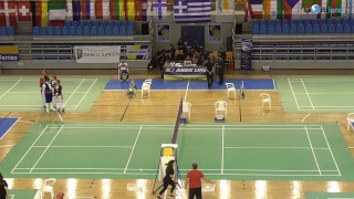 Badminton- Hellas Open 2018 Chania- DAY 1