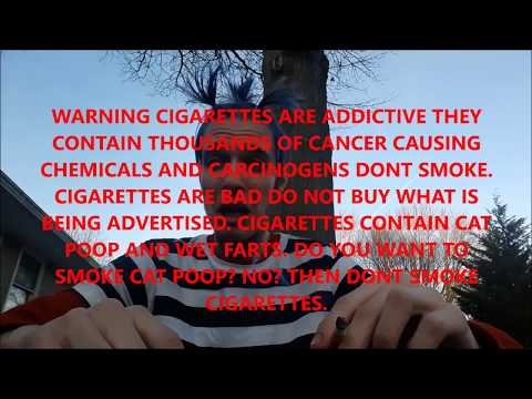 Modern Day Cigarette Commercial