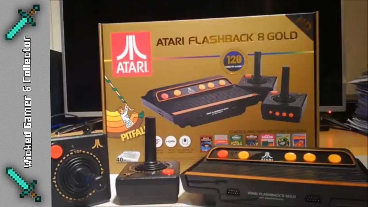 Retro Review At Games Atari Flashback Multi Game Hdmi Hd Console Unboxing