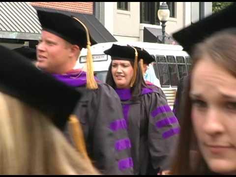 2009 Charter class of Elon Law receives Juris Doctor degrees