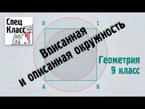 Как находится радиус описанной окружности