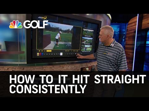 How to Hit the Club Up & Straight | Golf Channel