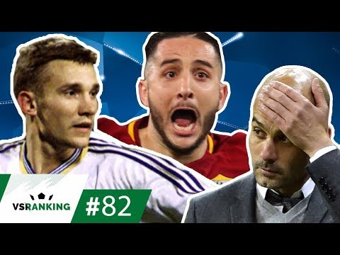 AS 10 ELIMINAÇÕES MAIS INESPERADAS DA CHAMPIONS LEAGUE - VSRANKING #82