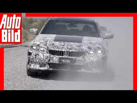 BMW 3er G20 (2018) Offizielle Fahraufnahmen