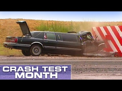 Crash Test Month: Stretch Limousine Crash