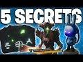 Destiny 2: 5 SECRETS ON THE MOON - Rabbit Statues - Serect Chests - Hidden Loot Paths - Shadowkeep