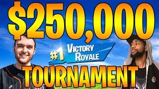 $250,000 OFFICIAL SUMMER SKIRMISH TOURNAMENT - FORTNITE SEASON 5 GAMEPLAY