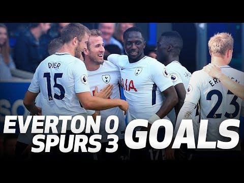 GOALS: Everton 0-3 Spurs