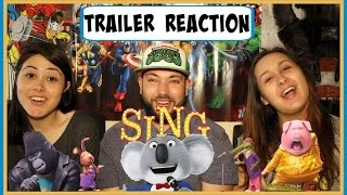 sing official trailer 2016   trailer reaction