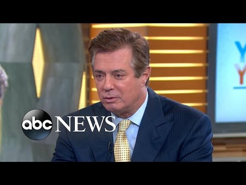 Paul Manafort Reacts to Trump Campaign Turmoil