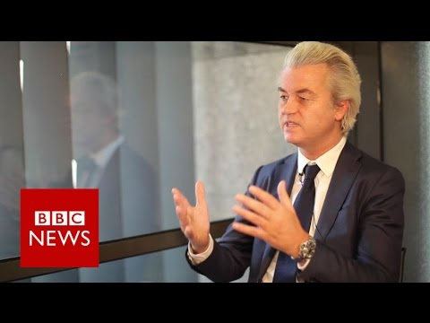 How Geert Wilders views the European Union - BBC News