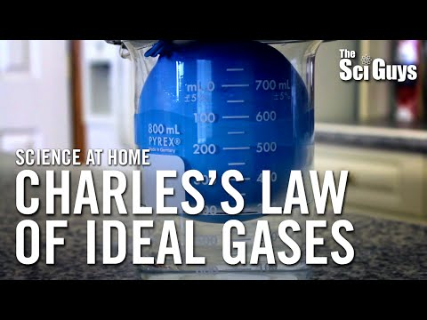 The Sci Guys: Science at Home - SE2 - EP10: Charles's Law of Ideal Gases