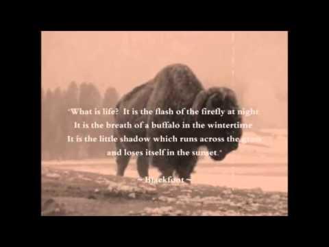 Native American ~ Words of Wisdom - YouTube