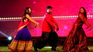 Maa Events and Entertainments Abhi+Sudeepa+pavitra Dance Performance