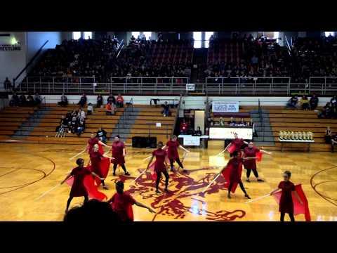Massac County High School Winter Guard