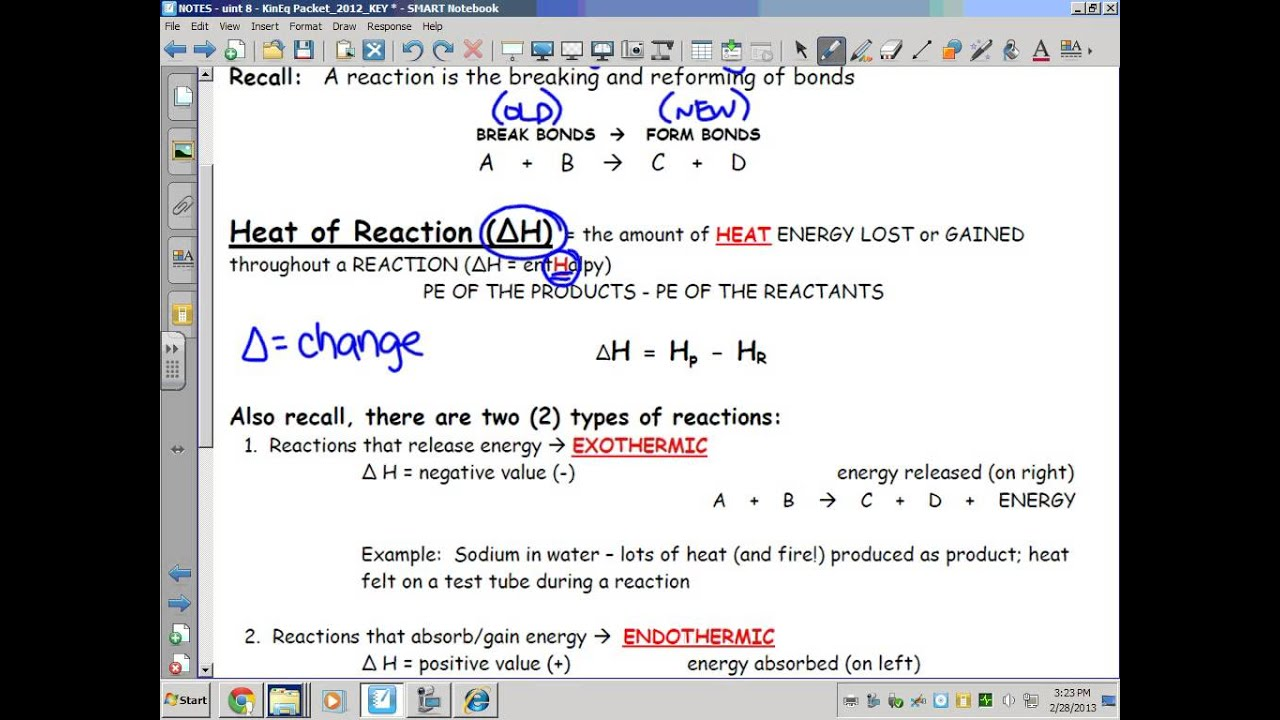 Kinetics, Thermodynamics, & Equilibrium: Potential Energy ...