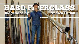 Gianni Placido plays hard Fiberglass Didgeridoo by Andrea Furlan