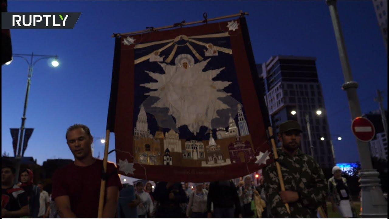 100 лет со дня гибели царской семьи: в Екатеринбурге прошёл крестный ход
