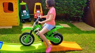 Ride on Motorbike Fun for Kids * Power Wheels