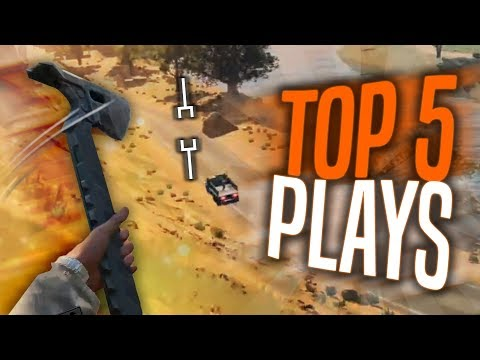 Call of Duty Blackout Top 5 Plays! thumbnail