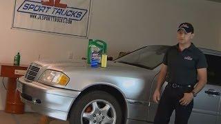 2000 Mercedes Benz C230 oil change