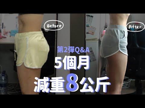 5個月在家減重8公斤|居家運動減肥Q&A、低脂早餐食譜、嘴饞怎麼解決?