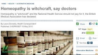 Je homeopatie jenom placebo?
