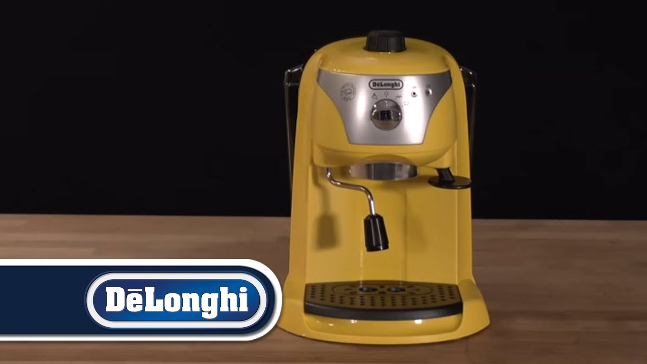 Delonghi Coffee Maker First Use : De Longhi How To First Use Motivo - YouTube