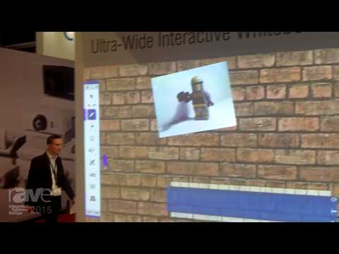 ISE 2015: NEC Presents Ultra-Wide Interactive Whiteboard