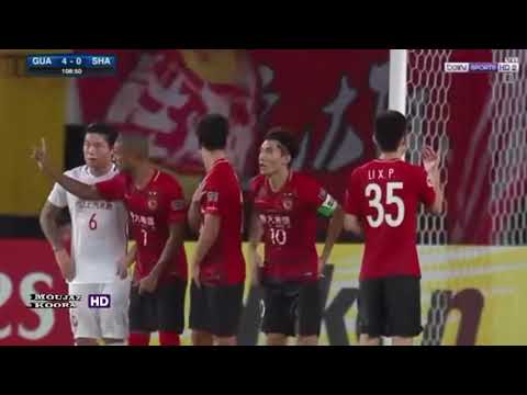 Hulk INCREDBILE free-kick goal titanic song Shanghai