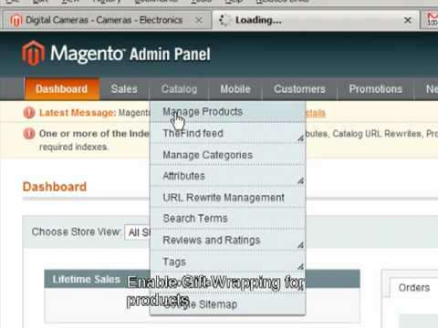 Magento extension giftwrapping pro