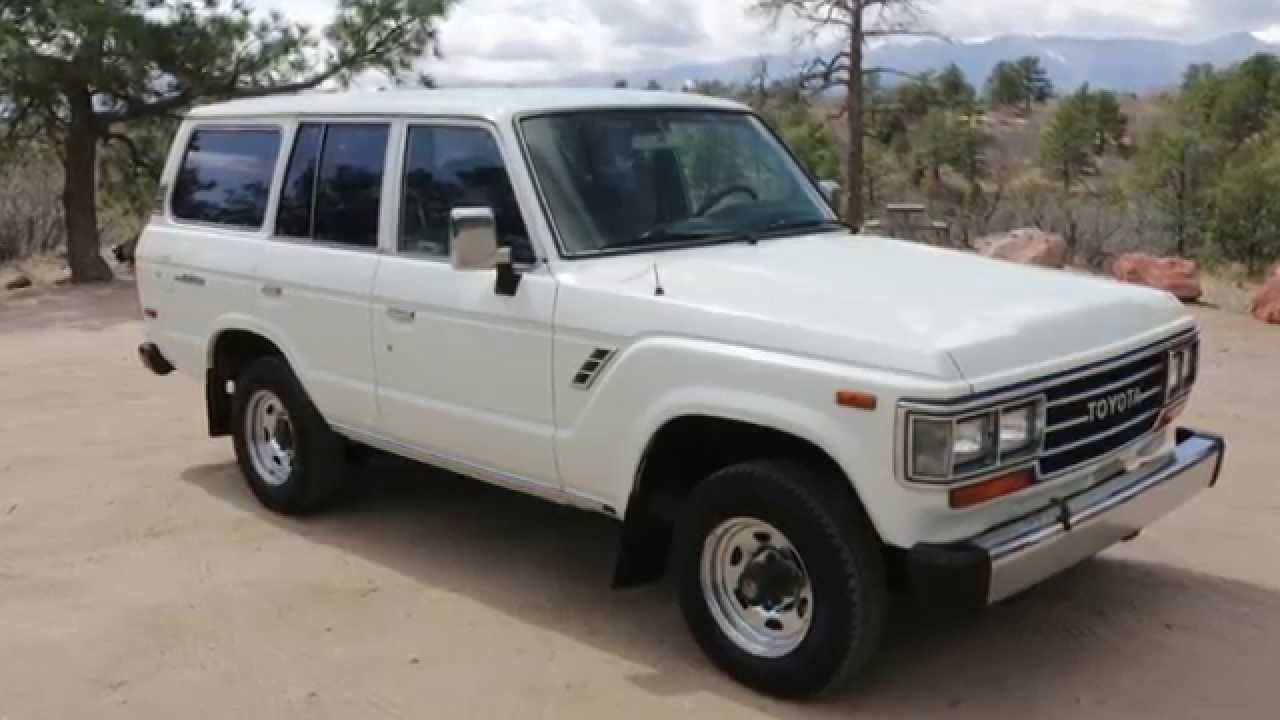 1989 toyota land cruiser fj62 for sale youtube. Black Bedroom Furniture Sets. Home Design Ideas