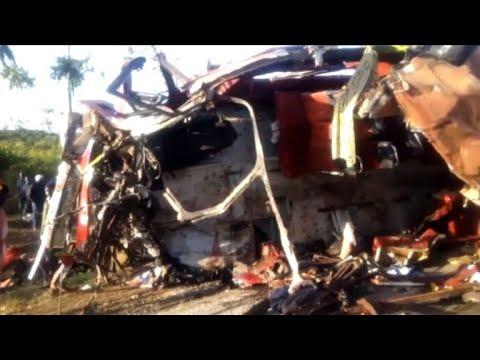 36 dead in central Kenya bus crash