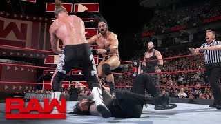 Braun Strowman turns on Roman Reigns during tag team main event: Raw, Aug. 27, 2018