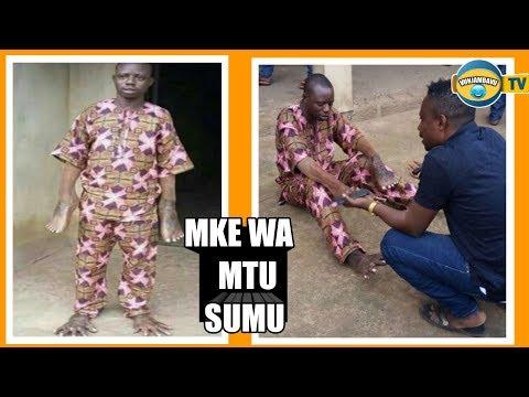 Mke wa Mtu Sumu|Jamaa ageuzwa Miguu kuwa Mikono na Mikono kuwa Miguu