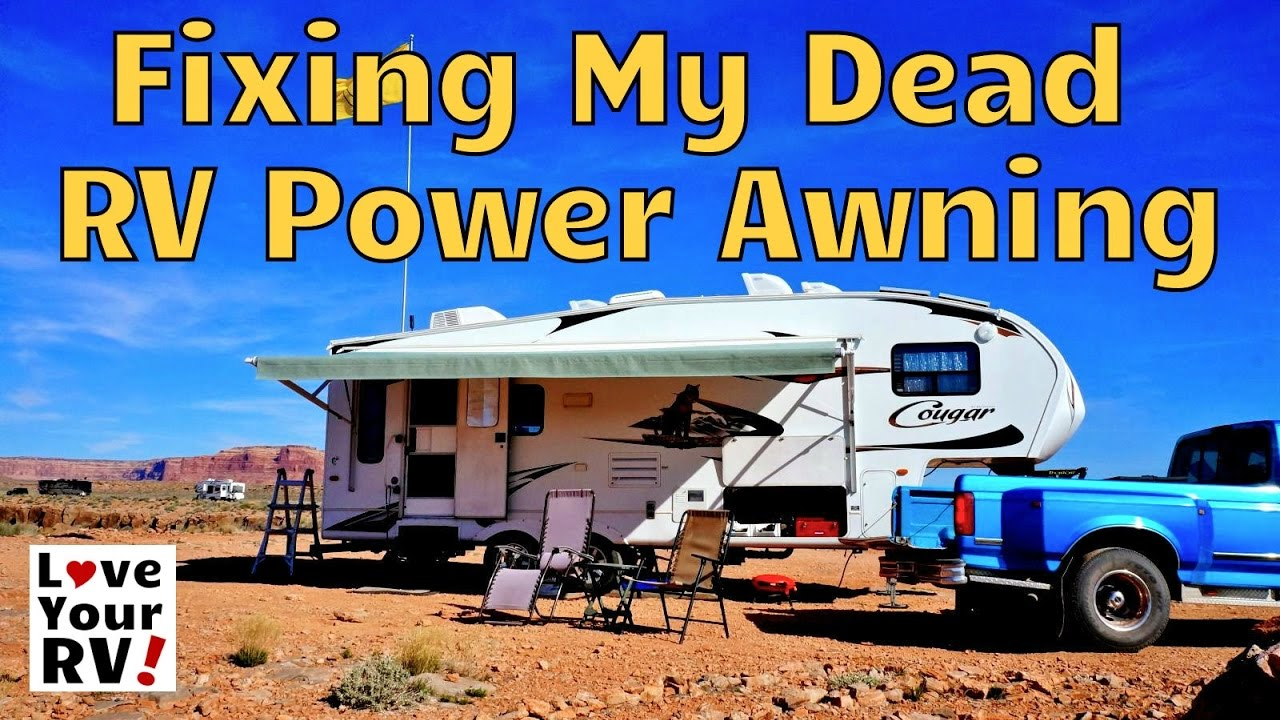 hight resolution of repairing my dead rv power awning