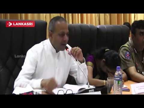 Sagala Ratnayaka and Chief Minister Vigneswaran Meet at Jaffna
