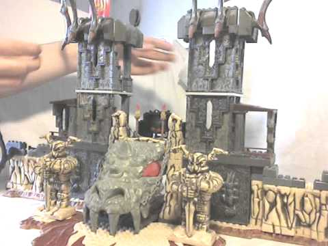 Megabloks Dragons Video Review: Portal of Fire (2004) [English]