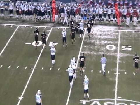 Austin VanderWel #16 Football Highlights Archbishop Murphy High School